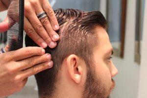 мужская стрижка волос