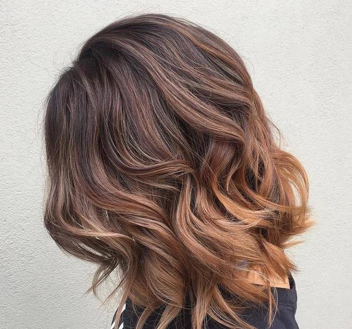 балаяж на средние волосы в ростове