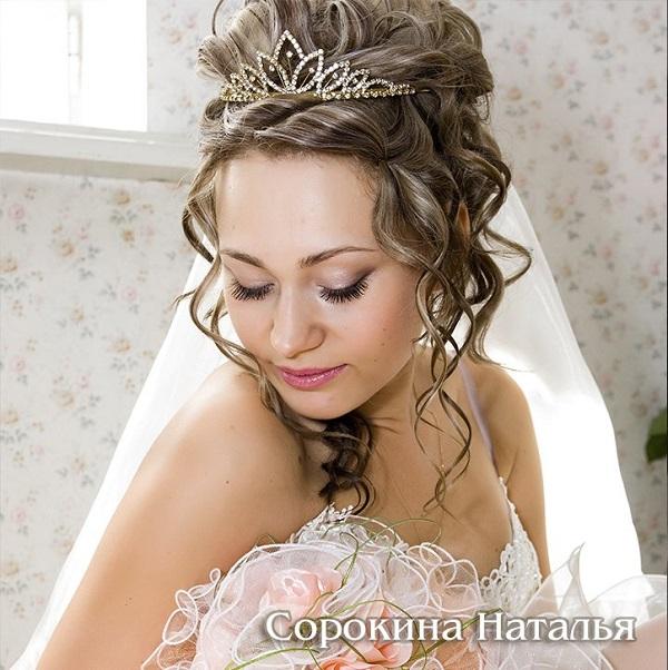 свадебные прически в Ростове-на-Дону на Западном