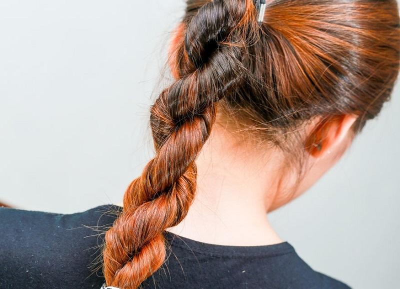 коса из двух прядей