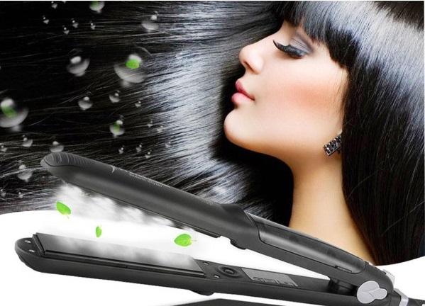 восстановление волос паром про кератин