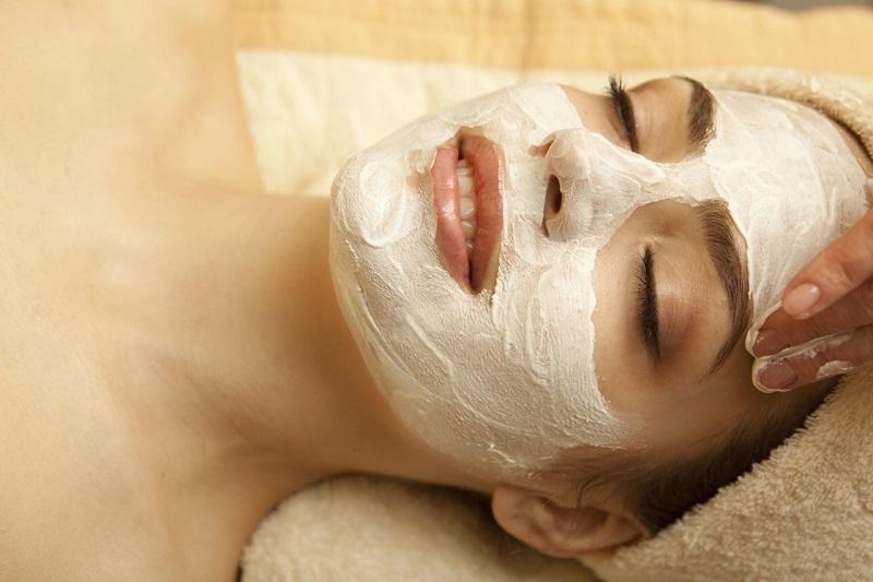 маска для кожи у косметолога