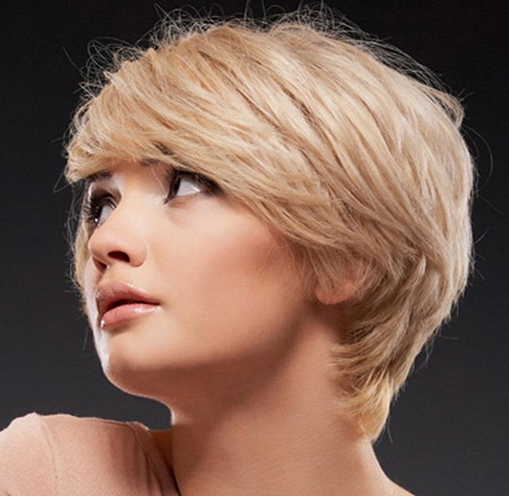 уная стрижка без укладки на короткие волосы
