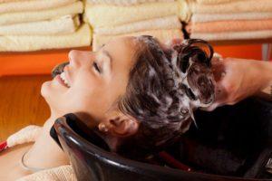 смывка волос в салоне ростов